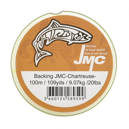 Backing JMC Chartreuse 20lbs 100m