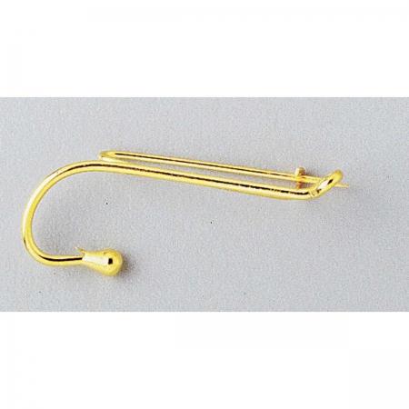 broche dorée MDC